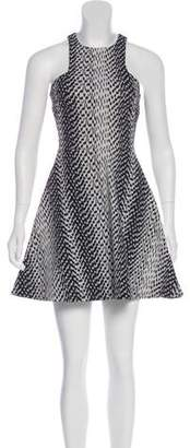 Elizabeth and James Sleeveless Printed Dress