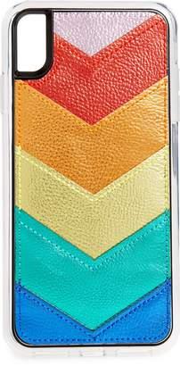 Zero Gravity Unite Rainbow Chevron iPhone X/Xs, XR & X Max Case/Card Wallet