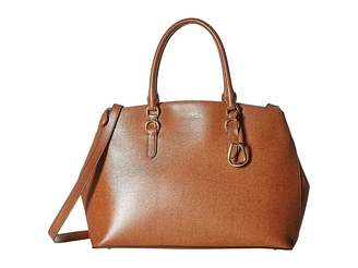 Lauren Ralph Lauren Bennington Double Zip Satchel