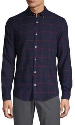Original Penguin Checkered Button-Down Shirt
