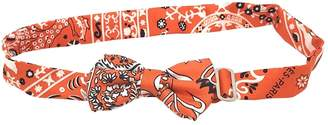 Hermes Noeud Papillon Orange Silk Scarves