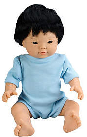"Educational Insights 15.75"" Baby Bijoux Asian Boy Doll"
