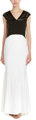 Laundry by Shelli Segal Laundry Platinum By Shelli Segal Gown