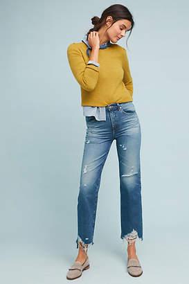 AG Jeans The Rhett High-Rise Cropped Straight Jeans
