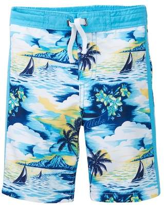 Tommy Bahama Palm Tree Sailing Trunks (Toddler & Little Boys)