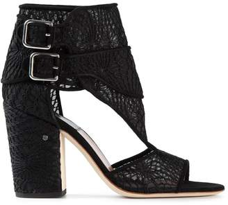 Laurence Dacade buckled lace sandals