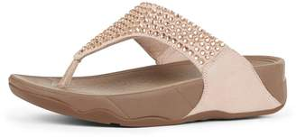 FitFlop Glitzie Imi-Suede Toe-Posts Sandals