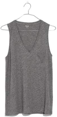 Madewell Whisper Cotton V-Neck Tank