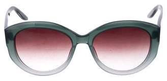 Barton Perreira Cat-Eye Gradient Sunglasses