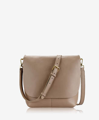 GiGi New York Andie Crossbody Stone Napa Luxe