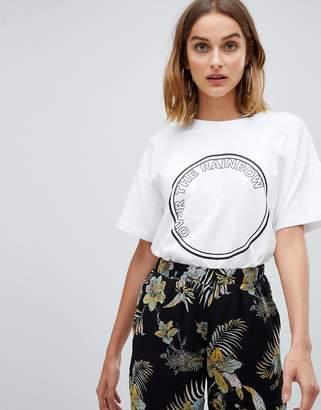 Gestuz Rainbow print t-shirt