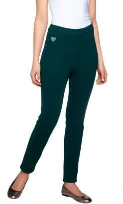 """Factory Quacker DreamJeannes"""" Regular Knit Denim Leggings"""