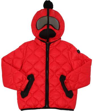 AI Riders On The Storm Quilted Ripstop Nylon Puffer Jacket