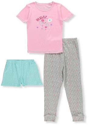 Rene Rofe Little Girls' 3-Piece Mix-and-Match Sleepwear Set