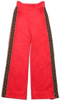 Fendi Logo Bands Triacetate Pants