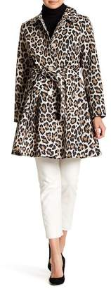 Kate Spade Printed Tech Trench Coat