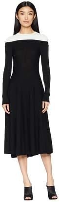 Sportmax Relais Long Sleeve Dress Women's Dress