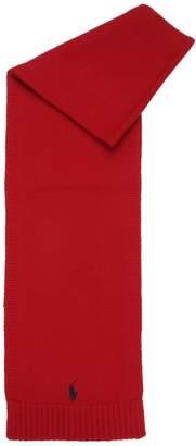 Ralph Lauren Knitted Wool Scarf