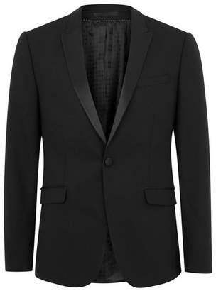 Topman Mens Premium Black Skinny Fit Blazer