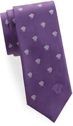 Versace Men's Silk Medusa Tie