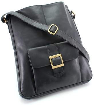 The Leather Store Wilton Large Leather Cossbody Bag