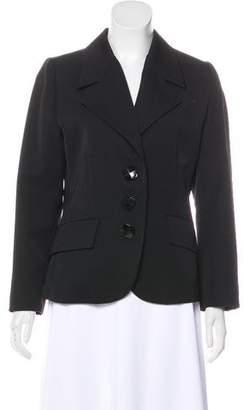 Saint Laurent Vintage Wool Structured Blazer