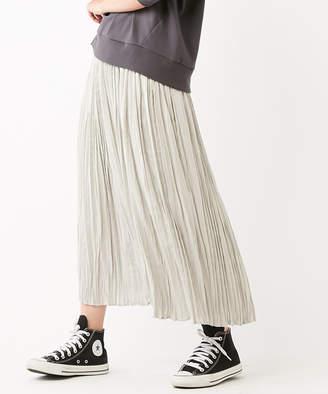 Discoat (ディスコート) - ディスコート サテンランダムプリーツスカート