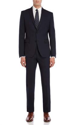 Versace Two-Piece Blue Suit