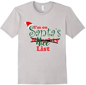 I'm on Santa's Naughty Nice List