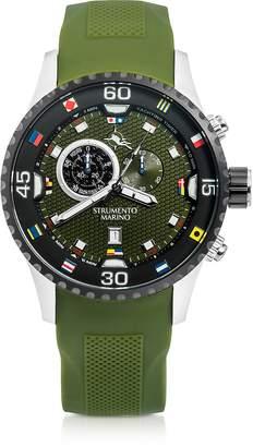Strumento Marino Porto Cervo Stainless Steel Men's Watch w/Silicone Band