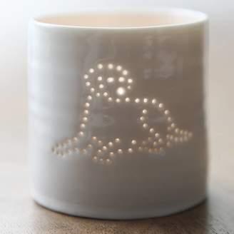 Luna Lighting Porcelain Labrador Tea Light