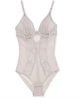 Distraction Dsn Essential Lace Trim Bodysuit