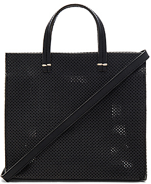 Clare V. Petit Simple Tote in Black. $325 thestylecure.com
