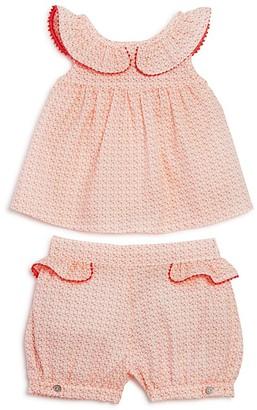 Tartine et Chocolat Girls' Geo Dot Top & Shorts Set - Baby $112 thestylecure.com