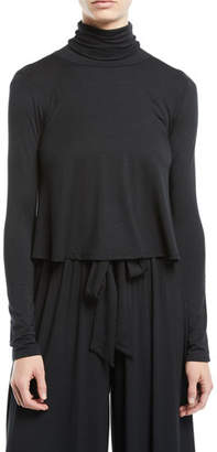 Rachel Pally Elodie Turtleneck Jersey Top