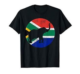 Elephant South Africa Safari Animal Vintage Gift Souvenir T-Shirt