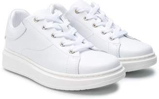 Emporio Armani Kids lace-up sneakers