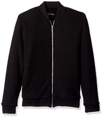 Velvet by Graham & Spencer Men's CABE Slim Fit Bomber Sweater