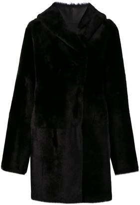 Sylvie Schimmel Cortina teddy coat