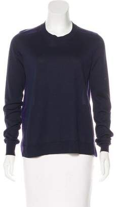 Lanvin Silk Long Sleeve Top