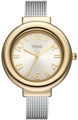 Vivani Women's Textured Cuff Watch