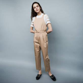 Maje Cotton canvas overalls