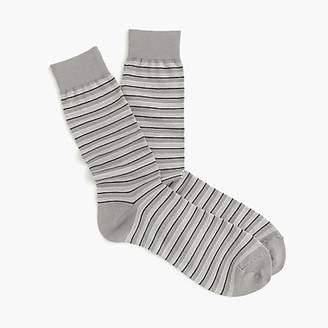 J.Crew Striped dress socks