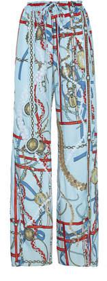 Lanvin Sequin Embellished Chain Print Pants Size: 36