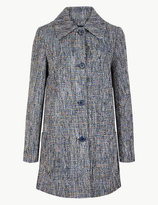 Marks and Spencer Textured Peacoat