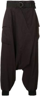 The Viridi-anne drop-crotch trousers