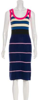 Sonia Rykiel Sonia by Sleeveless Knee-Length Dress