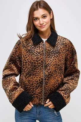 Emory Park Animal Quilted Jacket