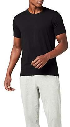 Calvin Klein Men's T-Shirt Black Schwarz (BLACK 001)
