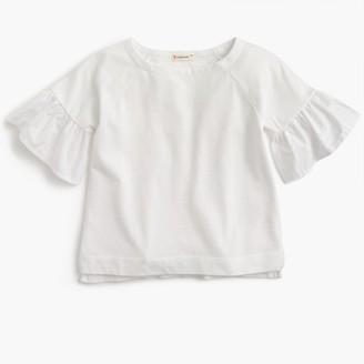 Flutter-sleeve top $39.50 thestylecure.com